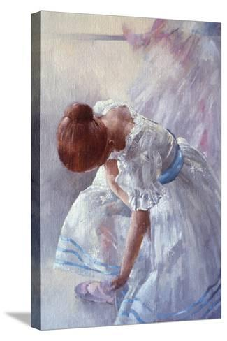 Sheila Against a Window-Peter Miller-Stretched Canvas Print