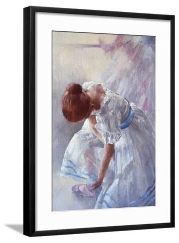 Sheila Against a Window-Peter Miller-Framed Art Print