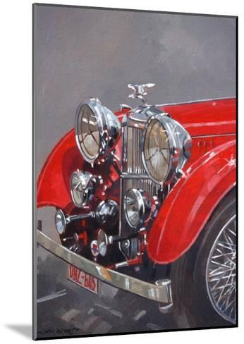 Red Sp.25 Alvis-Peter Miller-Mounted Giclee Print