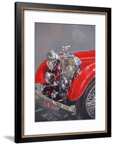 Red Sp.25 Alvis-Peter Miller-Framed Art Print