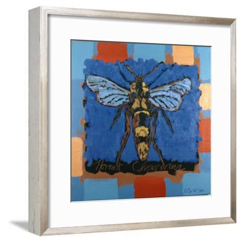 Hornet Clearwing, 1996-Peter Wilson-Framed Art Print