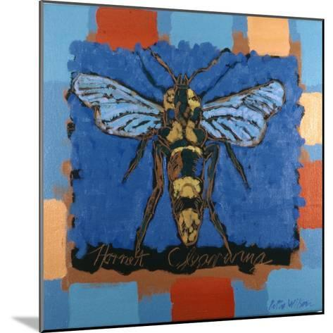 Hornet Clearwing, 1996-Peter Wilson-Mounted Giclee Print