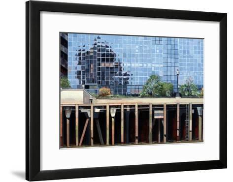 Near London Bridge, 2006-Peter Wilson-Framed Art Print