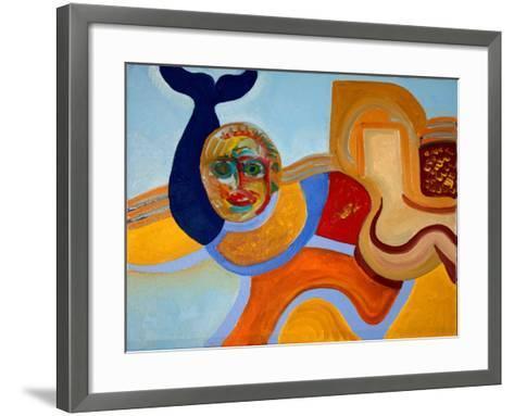 The Killer of the Dolphin, 2009-Jan Groneberg-Framed Art Print