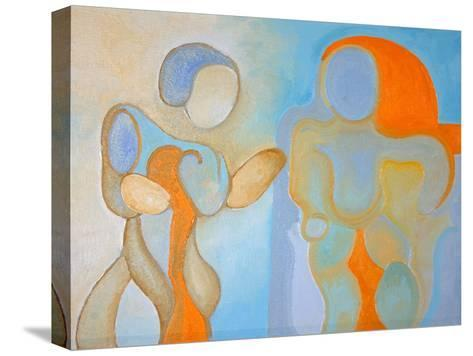 Man and Woman Nr 1, 2009-Jan Groneberg-Stretched Canvas Print