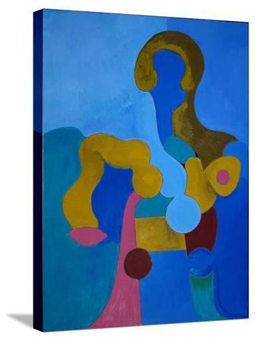 Small Sphinx, 2009-Jan Groneberg-Stretched Canvas Print