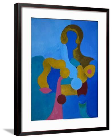 Small Sphinx, 2009-Jan Groneberg-Framed Art Print