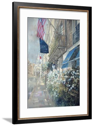 Flemings Hotel, Half Moon Street, London-Peter Miller-Framed Art Print
