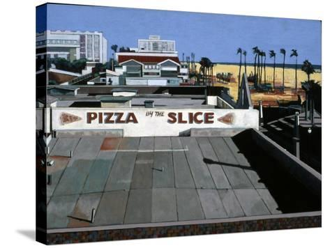 Pizza by the Slice, 2002-Peter Wilson-Stretched Canvas Print