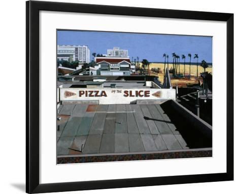 Pizza by the Slice, 2002-Peter Wilson-Framed Art Print