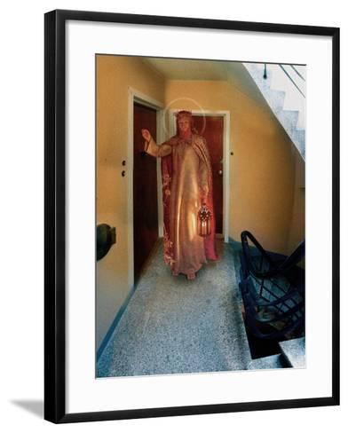 Backstairs Jesus, 2003-Trygve Skogrand-Framed Art Print