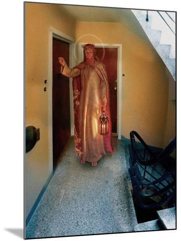 Backstairs Jesus, 2003-Trygve Skogrand-Mounted Giclee Print