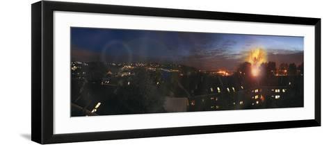 Battling the Sunset, 2003-Trygve Skogrand-Framed Art Print