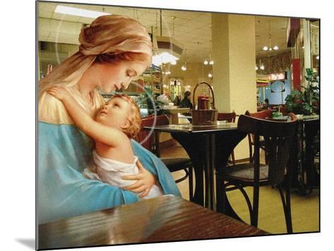 Kebab Madonna, 2002-Trygve Skogrand-Mounted Giclee Print