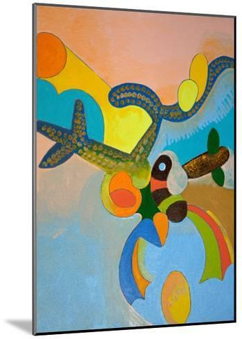 Ten Minutes after His Final Take-Off, Ikarus Gets Attacked by a Bird of Paradise, 2010-Jan Groneberg-Mounted Giclee Print