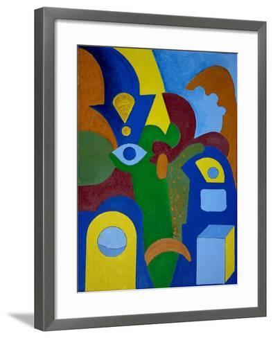 Just a Normal Day, 2009-Jan Groneberg-Framed Art Print