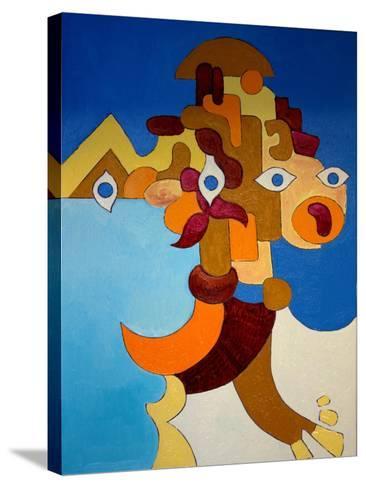 Big Sphinx, 2009-Jan Groneberg-Stretched Canvas Print