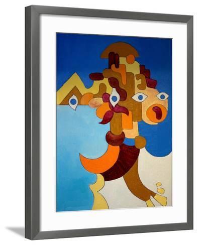 Big Sphinx, 2009-Jan Groneberg-Framed Art Print