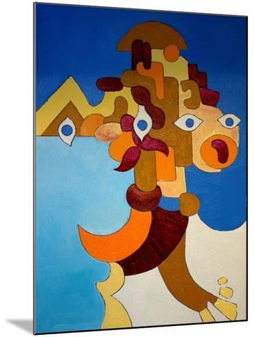 Big Sphinx, 2009-Jan Groneberg-Mounted Giclee Print