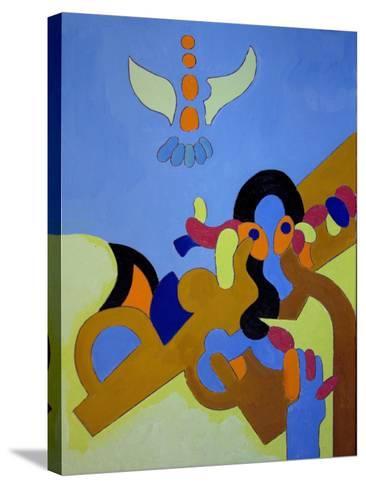 Child Prodigy, 2009-Jan Groneberg-Stretched Canvas Print