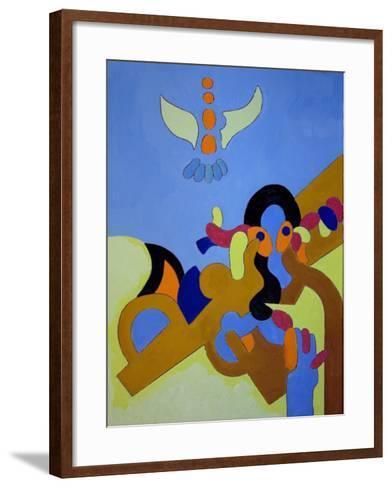 Child Prodigy, 2009-Jan Groneberg-Framed Art Print
