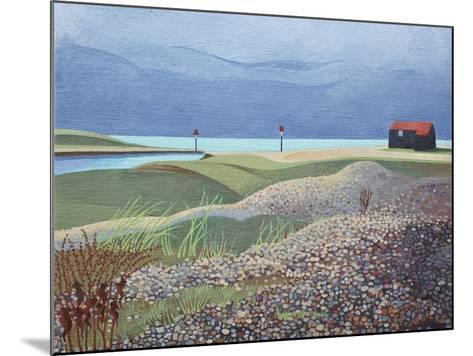 Hut, Rye Harbour-Anna Teasdale-Mounted Giclee Print
