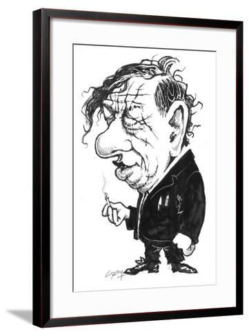 Auden-Gary Brown-Framed Art Print