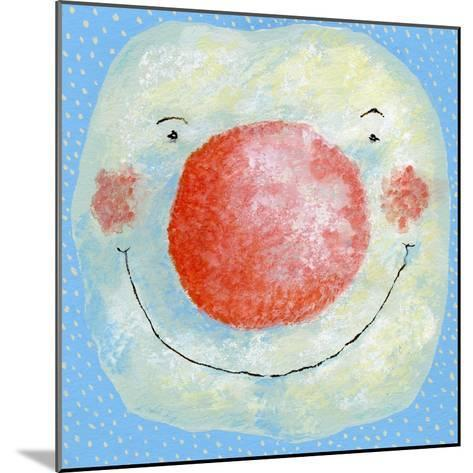 Smiling Snowman-David Cooke-Mounted Giclee Print