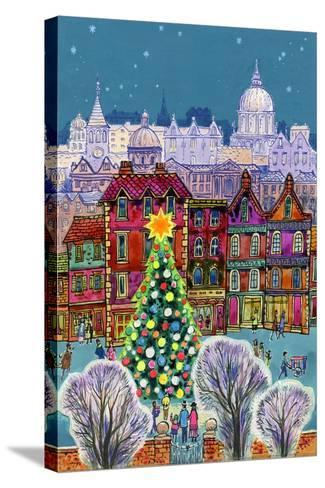 The Christmas Tree-Stanley Cooke-Stretched Canvas Print