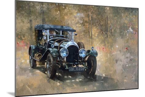 3 Litre Bentley at Cottesbrooke-Peter Miller-Mounted Giclee Print
