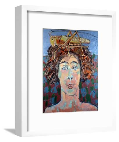 Locust Woman, 1994-Peter Wilson-Framed Art Print