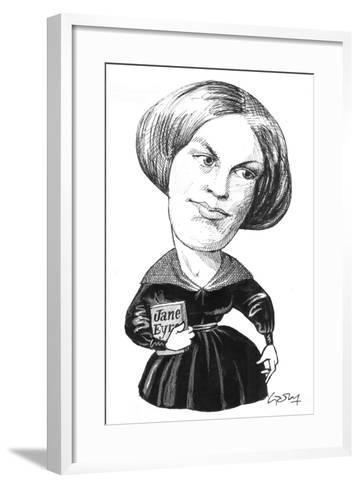 Bronte-Gary Brown-Framed Art Print