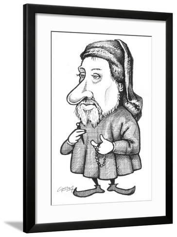 Chaucer-Gary Brown-Framed Art Print