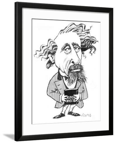 Dickens-Gary Brown-Framed Art Print