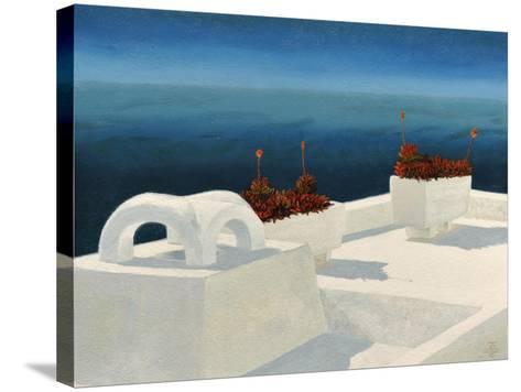 Santorini 5, 2010-Trevor Neal-Stretched Canvas Print