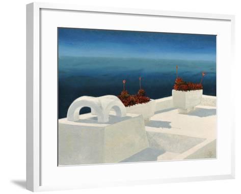 Santorini 5, 2010-Trevor Neal-Framed Art Print