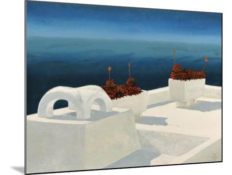 Santorini 5, 2010-Trevor Neal-Mounted Giclee Print