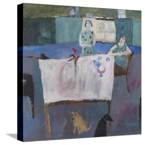 Empty Nestlers, 2011-Susan Bower-Stretched Canvas Print