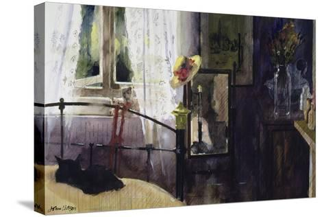 Bedroom at the Dell-John Lidzey-Stretched Canvas Print