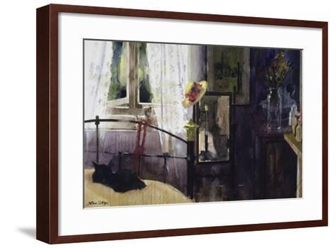 Bedroom at the Dell-John Lidzey-Framed Art Print