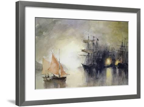 Boats-John Lidzey-Framed Art Print