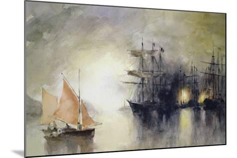 Boats-John Lidzey-Mounted Giclee Print