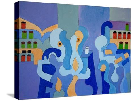 Inside the Pharmacy, 2009-Jan Groneberg-Stretched Canvas Print
