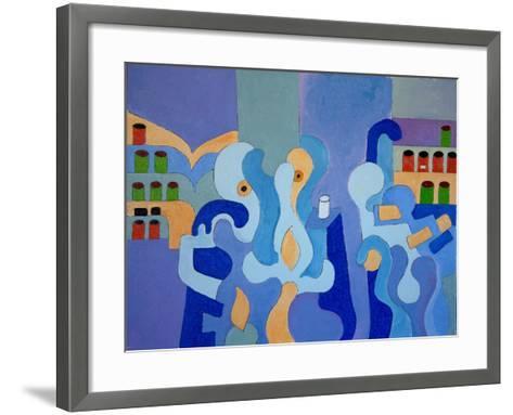 Inside the Pharmacy, 2009-Jan Groneberg-Framed Art Print