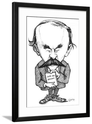 Hardy-Gary Brown-Framed Art Print