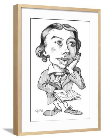 Keats-Gary Brown-Framed Art Print