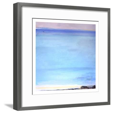 Translucent Turquoise, 2006-Pamela Scott Wilkie-Framed Art Print