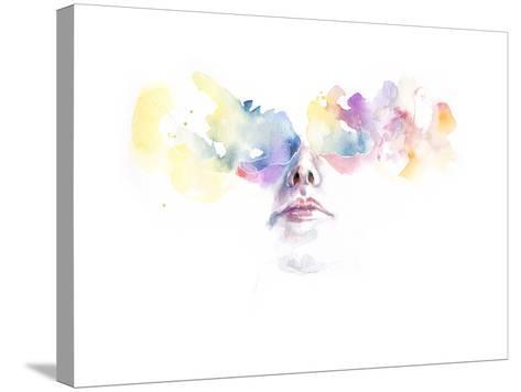 Tutta la Luce Negli Occhi-Agnes Cecile-Stretched Canvas Print