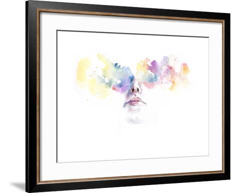 Tutta la Luce Negli Occhi-Agnes Cecile-Framed Art Print