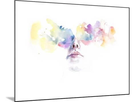 Tutta la Luce Negli Occhi-Agnes Cecile-Mounted Art Print